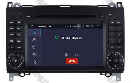 Navigatie Mercedes Benz/VW A/B-Class Vito Viano Sprinter Crafter, Android 10, QUADCORE|PX30|/ 2GB RAM + 16GB ROM cu DVD, 7 Inch - AD-BGWMBSPR7P34