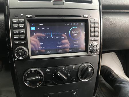 Navigatie Mercedes Benz/VW A/B-Class Vito Viano Sprinter Crafter, Android 10, QUADCORE|PX30|/ 2GB RAM + 16GB ROM cu DVD, 7 Inch - AD-BGWMBSPR7P330