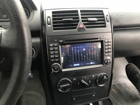 Navigatie Mercedes Benz/VW A/B-Class Vito Viano Sprinter Crafter, Android 10, QUADCORE|PX30|/ 2GB RAM + 16GB ROM cu DVD, 7 Inch - AD-BGWMBSPR7P327