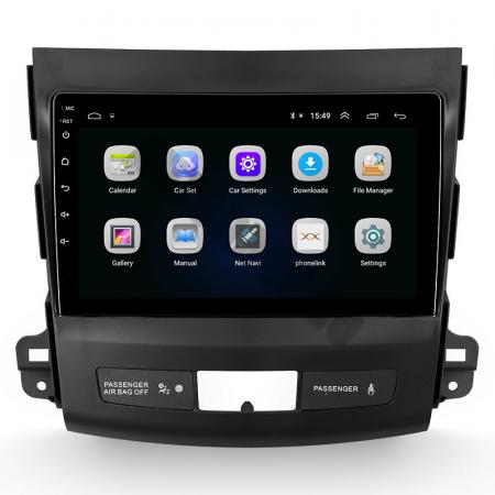 Navigatie Mitstubishi Outlander / Peugeot 4007 / Citroen C-Crosser, Android 9.1, QUADCORE|MTK| / 1GB RAM + 16 ROM, 9 Inch - AD-BGPOUTLANDER9MTK1GB3