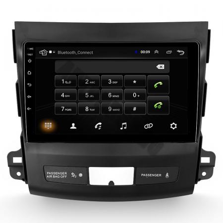 Navigatie Mitstubishi Outlander / Peugeot 4007 / Citroen C-Crosser, Android 9.1, QUADCORE|MTK| / 1GB RAM + 16 ROM, 9 Inch - AD-BGPOUTLANDER9MTK1GB7