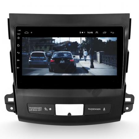 Navigatie Mitstubishi Outlander / Peugeot 4007 / Citroen C-Crosser, Android 9.1, QUADCORE|MTK| / 1GB RAM + 16 ROM, 9 Inch - AD-BGPOUTLANDER9MTK1GB15