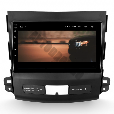 Navigatie Mitstubishi Outlander / Peugeot 4007 / Citroen C-Crosser, Android 9.1, QUADCORE|MTK| / 1GB RAM + 16 ROM, 9 Inch - AD-BGPOUTLANDER9MTK1GB16