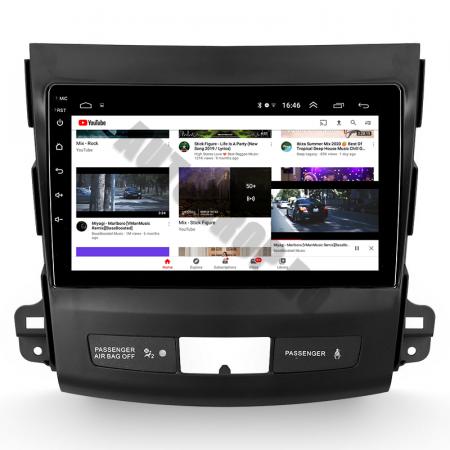 Navigatie Mitstubishi Outlander / Peugeot 4007 / Citroen C-Crosser, Android 9.1, QUADCORE|MTK| / 1GB RAM + 16 ROM, 9 Inch - AD-BGPOUTLANDER9MTK1GB9