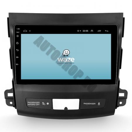 Navigatie Mitstubishi Outlander / Peugeot 4007 / Citroen C-Crosser, Android 9.1, QUADCORE|MTK| / 1GB RAM + 16 ROM, 9 Inch - AD-BGPOUTLANDER9MTK1GB12