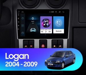 Navigatie Dacia Logan PH1 (2004-2009), QUADCORE|MTK| / 2GB RAM + 32GB ROM, 9 Inch - AD-BGPLOGANPH19INCH2GB17