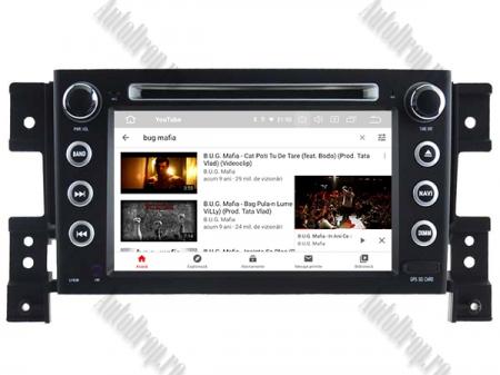 NAVIGATIE Suzuki Grand Vitara, ANDROID 9, Octacore|PX5|/ 4GB RAM + 64GB ROM cu DVD, 7 Inch - AD-BGWGVP510