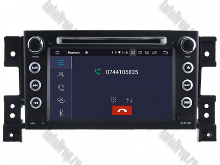 NAVIGATIE Suzuki Grand Vitara, ANDROID 9, Octacore|PX5|/ 4GB RAM + 64GB ROM cu DVD, 7 Inch - AD-BGWGVP56