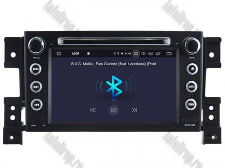 NAVIGATIE Suzuki Grand Vitara, ANDROID 9, Octacore|PX5|/ 4GB RAM + 64GB ROM cu DVD, 7 Inch - AD-BGWGVP54