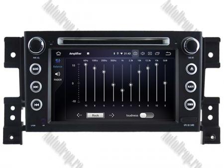 NAVIGATIE Suzuki Grand Vitara, ANDROID 9, Octacore|PX5|/ 4GB RAM + 64GB ROM cu DVD, 7 Inch - AD-BGWGVP55