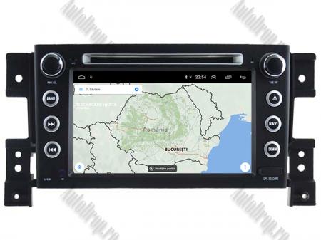NAVIGATIE Suzuki Grand Vitara, ANDROID 9, Octacore|PX5|/ 4GB RAM + 64GB ROM cu DVD, 7 Inch - AD-BGWGVP514