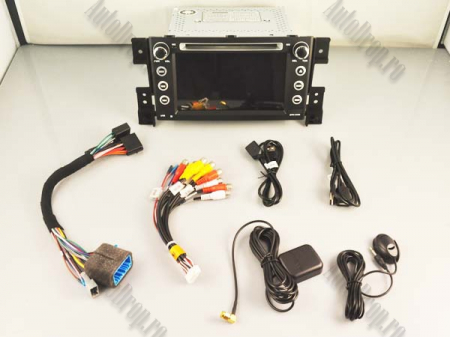 NAVIGATIE Suzuki Grand Vitara, ANDROID 9, Octacore|PX5|/ 4GB RAM + 64GB ROM cu DVD, 7 Inch - AD-BGWGVP516
