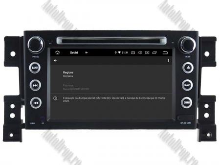 NAVIGATIE Suzuki Grand Vitara, ANDROID 9, Octacore|PX5|/ 4GB RAM + 64GB ROM cu DVD, 7 Inch - AD-BGWGVP58