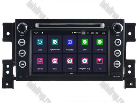 NAVIGATIE Suzuki Grand Vitara, ANDROID 9, Octacore|PX5|/ 4GB RAM + 64GB ROM cu DVD, 7 Inch - AD-BGWGVP51