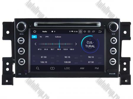 NAVIGATIE Suzuki Grand Vitara, ANDROID 9, Octacore|PX5|/ 4GB RAM + 64GB ROM cu DVD, 7 Inch - AD-BGWGVP53