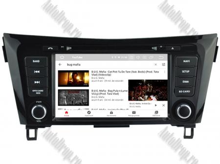 NAVIGATIE Nissan Qashqai/ X-trail, ANDROID 9, Octacore|PX5|/ 4GB RAM + 64GB ROM cu DVD, 7 Inch - AD-BGWQSHQP512