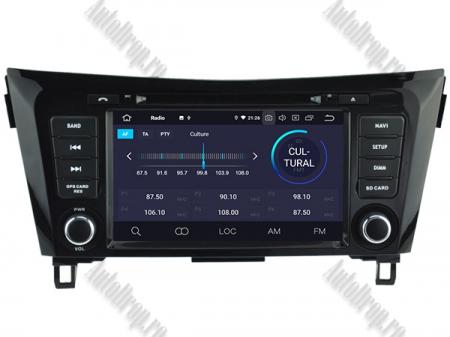 NAVIGATIE Nissan Qashqai/ X-trail, ANDROID 9, Octacore|PX5|/ 4GB RAM + 64GB ROM cu DVD, 7 Inch - AD-BGWQSHQP53