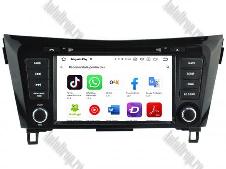 NAVIGATIE Nissan Qashqai/ X-trail, ANDROID 9, Octacore|PX5|/ 4GB RAM + 64GB ROM cu DVD, 7 Inch - AD-BGWQSHQP510