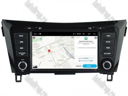NAVIGATIE Nissan Qashqai/ X-trail, ANDROID 9, Octacore|PX5|/ 4GB RAM + 64GB ROM cu DVD, 7 Inch - AD-BGWQSHQP514