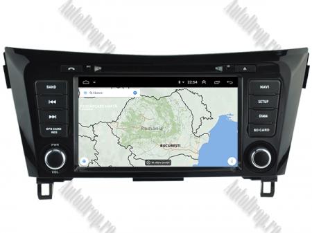 NAVIGATIE Nissan Qashqai/ X-trail, ANDROID 9, Octacore|PX5|/ 4GB RAM + 64GB ROM cu DVD, 7 Inch - AD-BGWQSHQP513