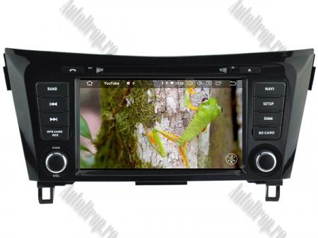 NAVIGATIE Nissan Qashqai/ X-trail, ANDROID 9, Octacore|PX5|/ 4GB RAM + 64GB ROM cu DVD, 7 Inch - AD-BGWQSHQP511
