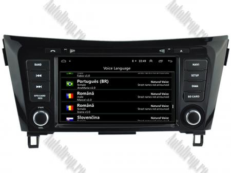 NAVIGATIE Nissan Qashqai/ X-trail, ANDROID 9, Octacore|PX5|/ 4GB RAM + 64GB ROM cu DVD, 7 Inch - AD-BGWQSHQP59