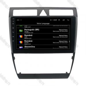 Navigatie Audi A6 1999-2004, Android 9.1, QUADCORE|MTK| / 1GB RAM + 16 ROM, 9 Inch - AD-BGPAUDIA691GB5