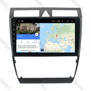 Navigatie Audi A6 1999-2004, Android 9.1, QUADCORE|MTK| / 1GB RAM + 16 ROM, 9 Inch - AD-BGPAUDIA691GB11