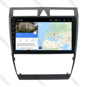 Navigatie Audi A6 1999-2004, Android 9.1, QUADCORE|MTK| / 2GB RAM + 32 ROM, 9 Inch - AD-BGPAUDIA692GB12