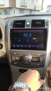 Navigatie Toyota Corolla 2007-2013, Android 9.1, QUADCORE MTK  / 2GB RAM + 32 ROM, 9 Inch - AD-BGPCOROLLAMTK2GB19