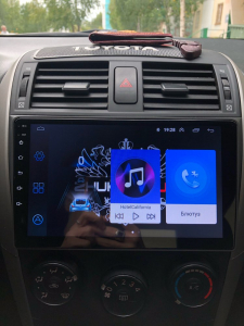 Navigatie Toyota Corolla 2007-2013, Android 9.1, QUADCORE|MTK| / 2GB RAM + 32 ROM, 9 Inch - AD-BGPCOROLLAMTK2GB20