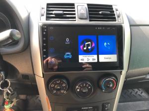 Navigatie Toyota Corolla 2007-2013, Android 9.1, QUADCORE MTK  / 2GB RAM + 32 ROM, 9 Inch - AD-BGPCOROLLAMTK2GB21