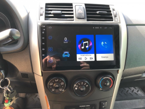 Navigatie Toyota Corolla 2007-2013, Android 9.1, QUADCORE|MTK| / 1GB RAM + 16 ROM, 9 Inch - AD-BGPCOROLLAMTK1GB22