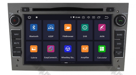 Navigatie Opel, Android 10, Quadcore|PX30|/ 2GB RAM si 16GB ROM cu DVD, 7 Inch - AD-BGWOPL7P3-S1