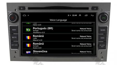 Navigatie Opel, Android 10, Quadcore|PX30|/ 2GB RAM si 16GB ROM cu DVD, 7 Inch - AD-BGWOPL7P3-S11
