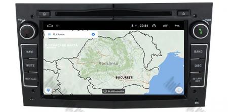 Navigatie Opel, Android 10, Octacore|PX5|/ 4GB RAM si 64GB ROM cu DVD, 7 Inch - AD-BGWOPL7P5-B13