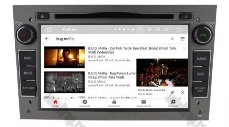 Navigatie Opel, Android 10, Quadcore|PX30|/ 2GB RAM si 16GB ROM cu DVD, 7 Inch - AD-BGWOPL7P3-S9