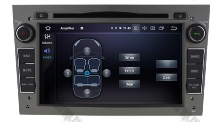 Navigatie Opel, Android 10, Quadcore|PX30|/ 2GB RAM si 16GB ROM cu DVD, 7 Inch - AD-BGWOPL7P3-S7