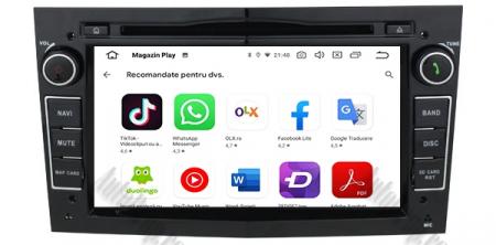 Navigatie Opel, Android 10, Octacore|PX5|/ 4GB RAM si 64GB ROM cu DVD, 7 Inch - AD-BGWOPL7P5-B8