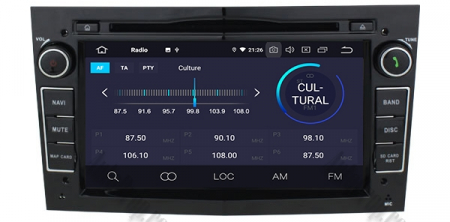 Navigatie Opel, Android 10, Octacore|PX5|/ 4GB RAM si 64GB ROM cu DVD, 7 Inch - AD-BGWOPL7P5-B3