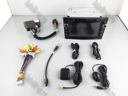 Navigatie Opel, Android 10, Octacore|PX5|/ 4GB RAM si 64GB ROM cu DVD, 7 Inch - AD-BGWOPL7P5-B16