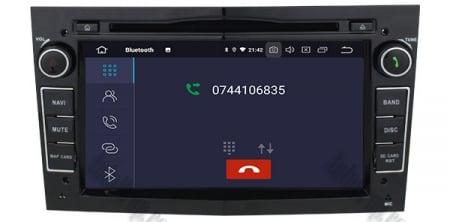 Navigatie Opel, Android 10, Octacore|PX5|/ 4GB RAM si 64GB ROM cu DVD, 7 Inch - AD-BGWOPL7P5-B6