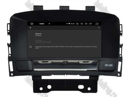 Navigatie Opel Astra J, Android 9, Quadcore|PX30|/ 2GB RAM si 16GB ROM cu DVD, 7 Inch - AD-BGWOPLAJP39