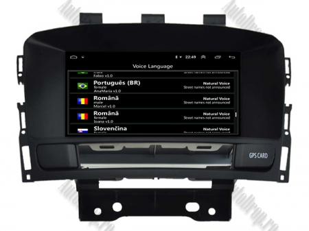 Navigatie Opel Astra J, Android 9, Quadcore|PX30|/ 2GB RAM si 16GB ROM cu DVD, 7 Inch - AD-BGWOPLAJP38