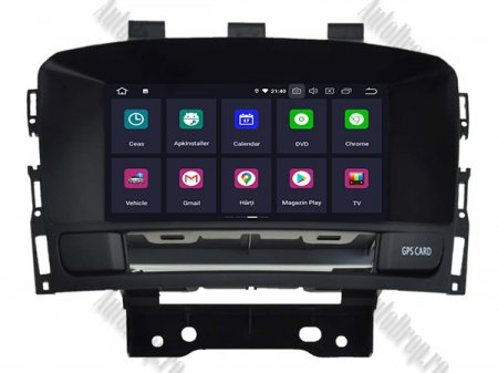 Navigatie Opel Astra J, Android 9, Quadcore|PX30|/ 2GB RAM si 16GB ROM cu DVD, 7 Inch - AD-BGWOPLAJP31