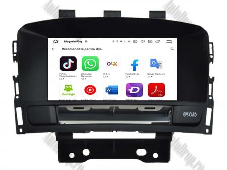 Navigatie Opel Astra J, Android 9, Quadcore|PX30|/ 2GB RAM si 16GB ROM cu DVD, 7 Inch - AD-BGWOPLAJP310