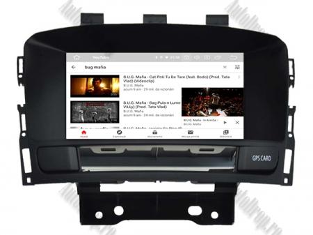 Navigatie Opel Astra J, Android 9, Quadcore|PX30|/ 2GB RAM si 16GB ROM cu DVD, 7 Inch - AD-BGWOPLAJP311
