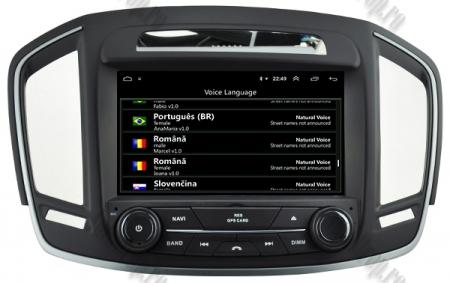Navigatie Opel Insignia 2014, Android 9, Quadcore|PX30|/ 2GB RAM si 16GB ROM cu DVD, 8 Inch - AD-BGWOPLINSG14P37
