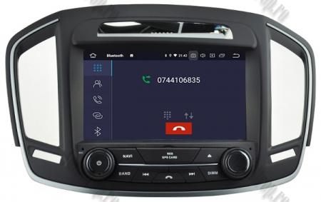 Navigatie Opel Insignia 2014, Android 9, Quadcore|PX30|/ 2GB RAM si 16GB ROM cu DVD, 8 Inch - AD-BGWOPLINSG14P35