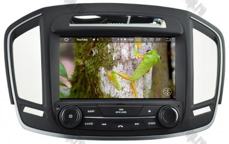 Navigatie Opel Insignia 2014, Android 9, Quadcore|PX30|/ 2GB RAM si 16GB ROM cu DVD, 8 Inch - AD-BGWOPLINSG14P315